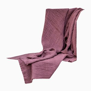 Linen Tasseled Throw Blanket by Once Milano