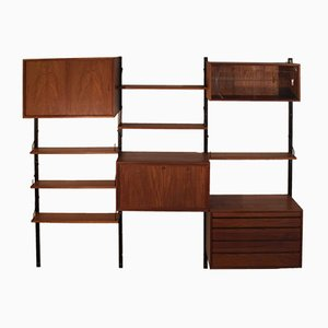 Mid-Century Modular Wall Unit by Poul Cadovius for Cado