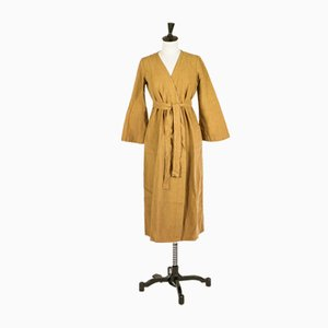 S/M Linen Dressing Gown by Once Milano