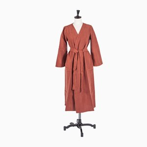 M/L Linen Dressing Gown by Once Milano