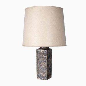 Lámpara de mesa de Nils Thorsson para Royal Copenhagen, años 60