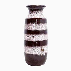 Große deutsche Vintage Vase von Scheurich, 1970er