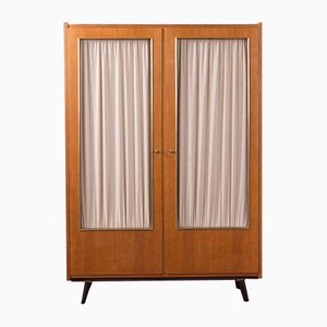 German Oak Veneered Plywood Wardrobe, 1950s