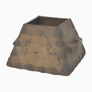Caja de arroz china antigua