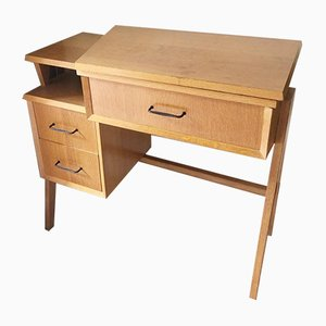 Mid-Century Teak Sewing Table from Singer