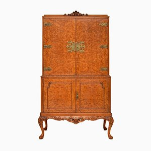 Burr Walnut Cabinet, 1930s
