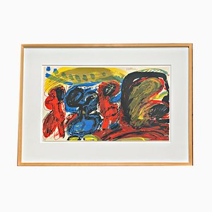 Farbserigrafie von Walter Stöhrer, 1968
