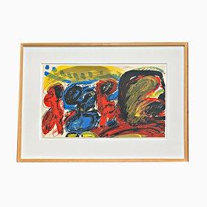 Serigrafia a colori di Walter Stöhrer, 1968