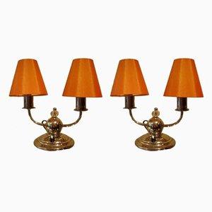Lampes de Bureau, 1950s, Set de 2