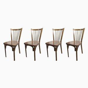 Model 153 Dining Chairs from Baumann, 1960s, Set of 4
