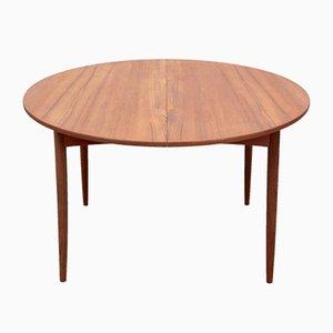 Table de Salle à Manger Ronde Extensible Modèle 4/6 en Teck de Elsteds Mobelfabrik, 1960s