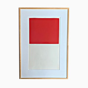 Color Screenprint by Karl Horst Hödicke, 1968