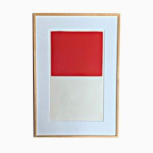Serigrafía a color de Karl Horst Hödicke, 1968