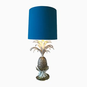 Tischlampe in Ananas-Optik, 1970er
