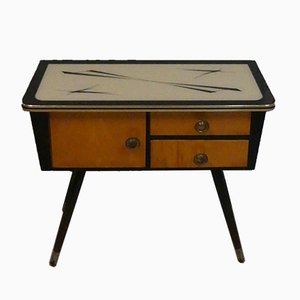 Mid-Century Dresser with Glass Top