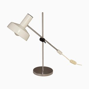 White Table Lamp by J. J. M. Hoogervorst for Anvia, 1960s