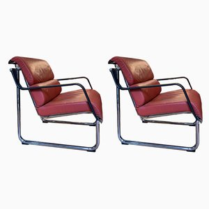 Armchairs by Yrjo Kukkapuro for Avarte, 1970s, Set of 2