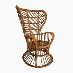 Mid-Century Peacock Armchair by Gio Ponti & Lio Carminati