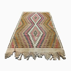 Turkish Kilim Rug, 1940s
