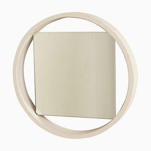 Specchio DZ84 bianco di Benno Premsela per 't Spectrum, anni '50