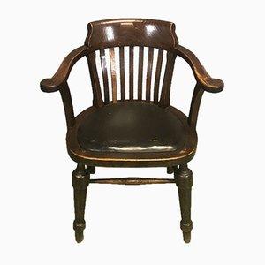 Armlehnstuhl aus Eiche, 1920er