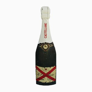 Insegna Champagne in fibra di vetro, Francia, anni '50