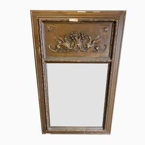 Antique Napoleon III Trumeau Mirror