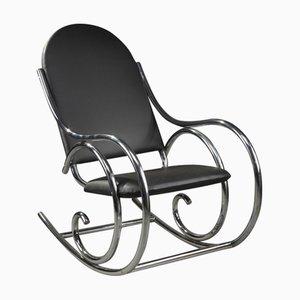 Rocking Chair en Métal Tubulaire de Thonet, 1950s