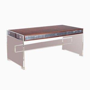 Rosewood Desk by Poul Norreklit for Georg Petersens Møbelfabrik., 1970s