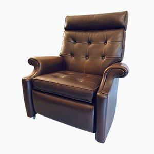 Sillón Club reclinable vintage de Parker Knoll, años 50