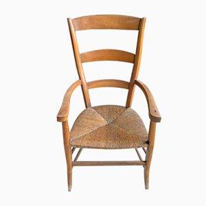 Antique Rustic Armchair