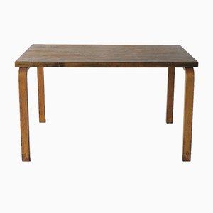 Tavolo da pranzo in betulla e compensato di Alvar Aalto, anni '30
