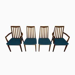 Vintage Esszimmerstühle von Victor Wilkins für G-Plan, 1960er, 4er Set