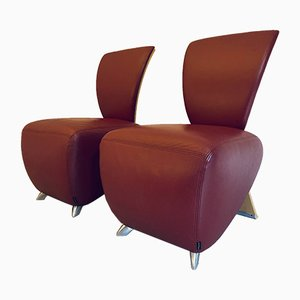 Postmodern Chairs by Bobo Dauphine for Dauphine, 2000s, Set of 2