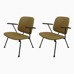 Dutch Armchairs by Willem Hendrik Gispen for Kembo, 1950s, Set of 2