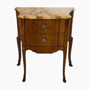 Antique French Walnut Veneer Dresser