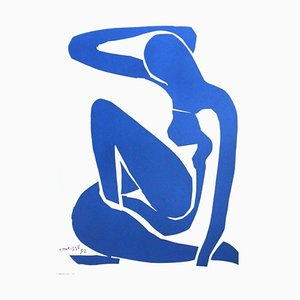 Vintage Ausstellungsplakat Henri Matisse Musée Ceret, 1980