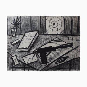 Litografia The Black Dahlia firmata di Bernard Buffet, 1988
