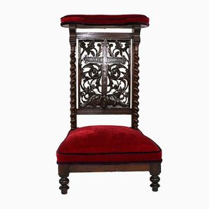 Antique French Oak Prie-Dieu