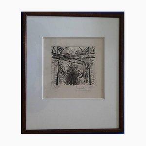 L'Homme Est Nu Lithograph by Bernard Buffet, 1952