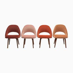 Sillas de oficina vintage de Eero Saarinen para Knoll, años 50. Juego de 4