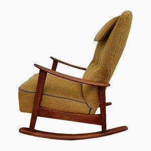 Sedia a dondolo nr. 9020 di Fritz Hansen, anni '50
