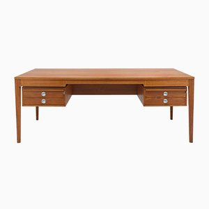Vintage Danish Model Diplomat Desk by Finn Juhl for France & Son, 1962