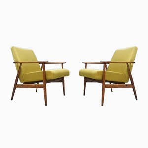 Armchairs by H. Lis, 1970s, Set of 2