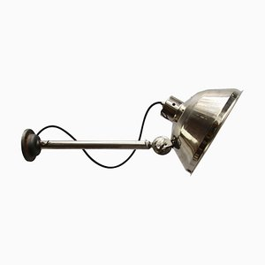 Vintage Industrial Metal Medical Wall Light, 1950s