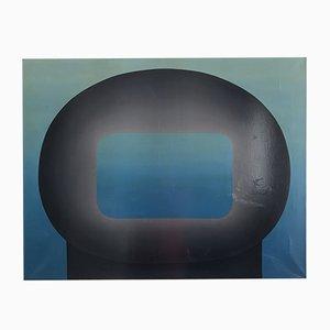 Peinture à l'Huile par Jos Decordier, Belgique, 1970s