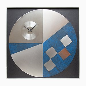 Large Modernist Wall Clock from Kienzle, 1980s