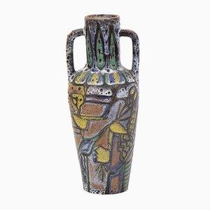 Abstrakte deutsche Vase, 1970er