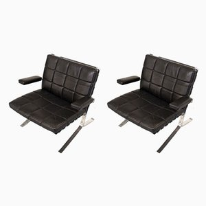 Joker Armchairs by Olivier Mourgue for Airborne, 1950s, Set of 2