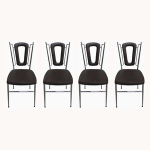 Vintage Skai Dining Chairs, 1970s, Set of 4